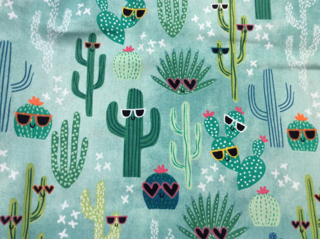"Cacti With Sunglasses 2019 - 8"" round"