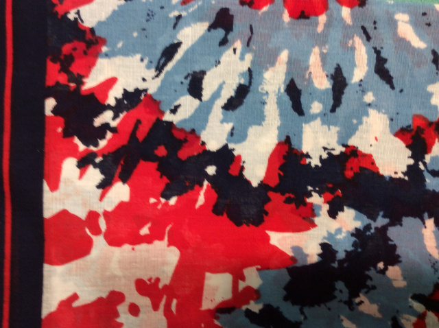 Bandana - Red/White/Blue Tie Dye
