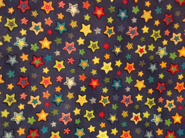 "Bright Stars on Royal - 8"" round"